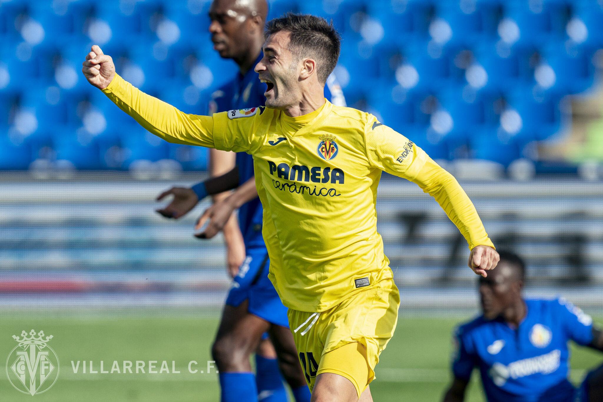 Gran victoria del Villarreal en Getafe