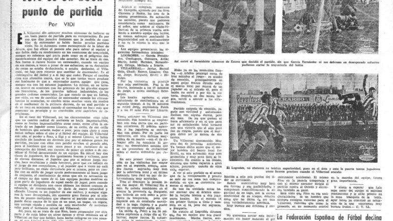 El Villarreal CF un 23 de enero