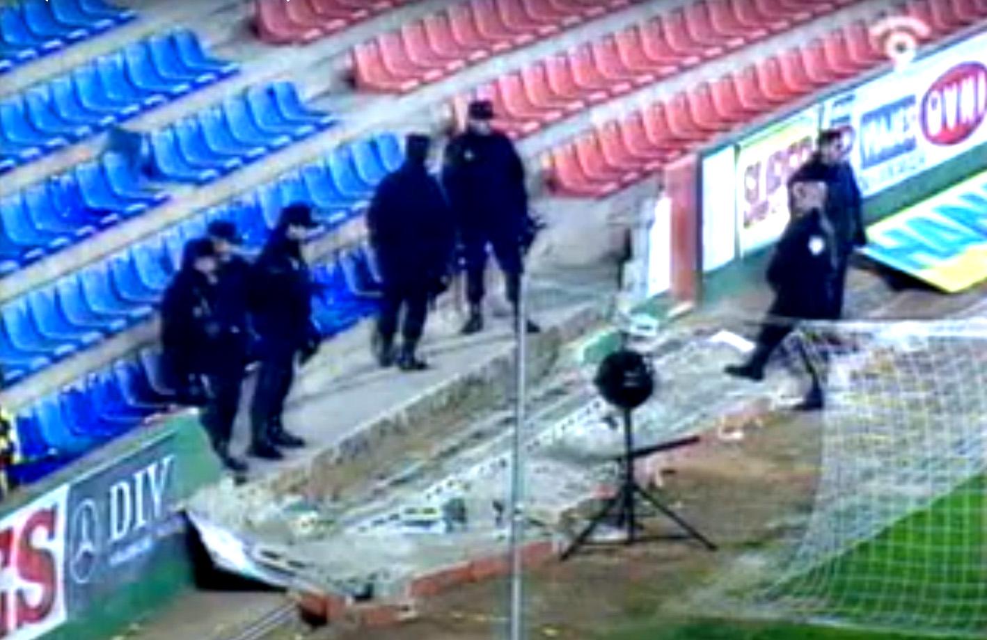 Levante en Copa, en el único precedente a Palermo le cayó la pared