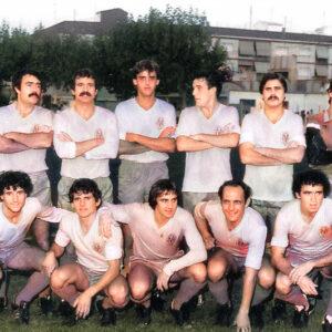 Luto por la muerte del ex jugador Manolo Guiral