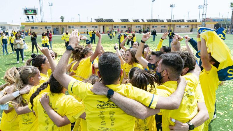 Día histórico para el club, las chicas ¡¡A PRIMERA!!