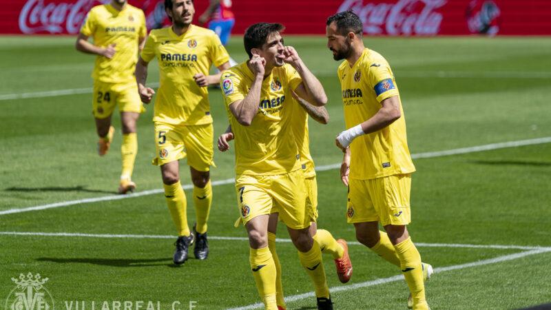 Gran victoria del Villarreal con Hat Trick de Gerard Moreno