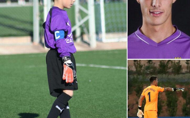 Marc Vidal, el portero de Vila-real que juega en el filial