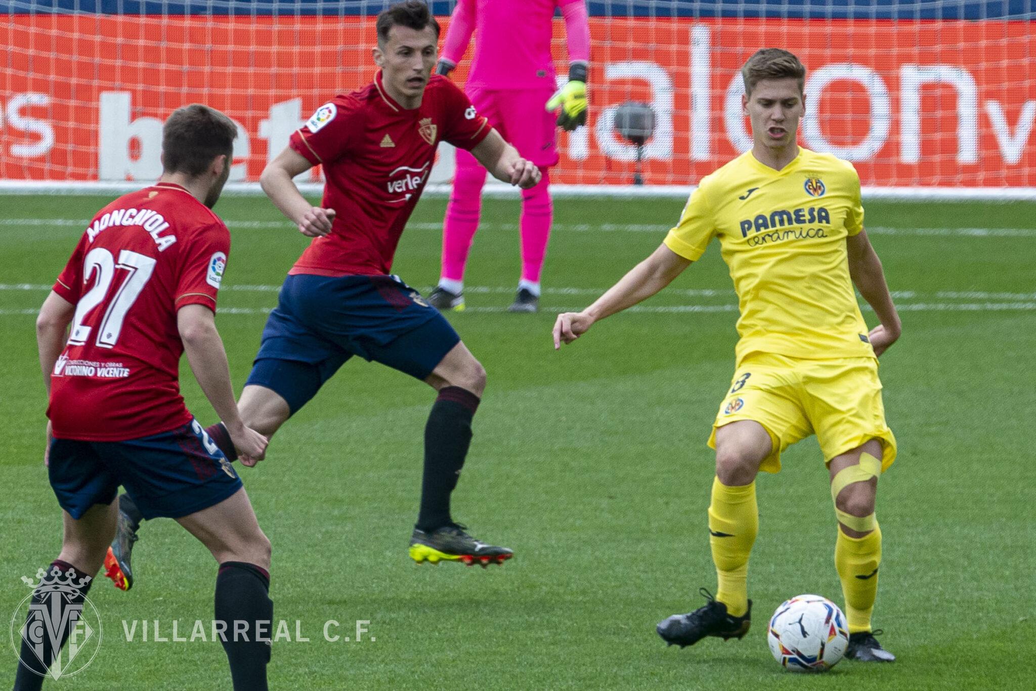 El Villarreal de las rotaciones mereció más ante Osasuna