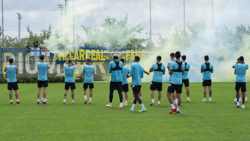 Villarreal CF, afición de equipo campeón