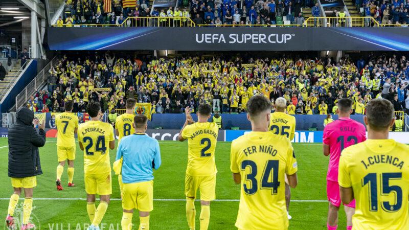 El Villarreal cierra una temporada para enmarcar