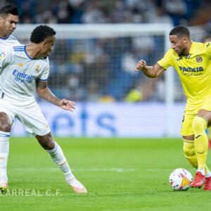 El Villarreal muy cerca de la victoria en el Bernabéu